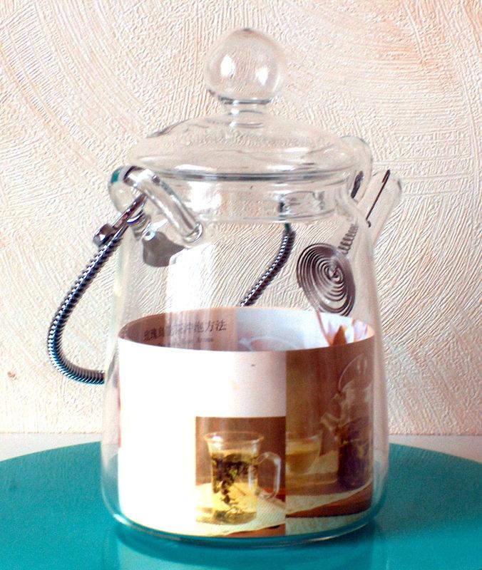 Skleněná konvička ''Tea Art''. 0,45